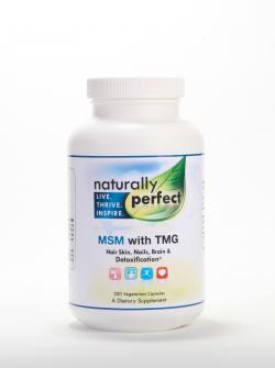MSM with TMG Capsules